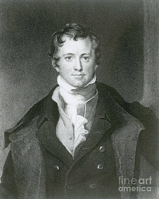 Humphry Davy, English Chemist Print by Science Source
