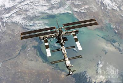 International Space Station Print by Nasa