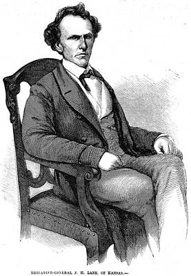 James Henry Lane Print by Granger