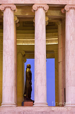 Jefferson Memorial Print by Brian Jannsen
