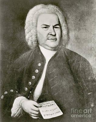 Johann Sebastian Bach, German Baroque Print by Photo Researchers