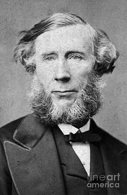 Action Portrait From Photograph - John Tyndall, Irish Physicist by Science Source