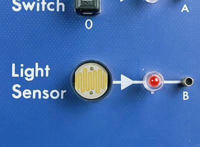 Light Dependent Resistor Print by Andrew Lambert Photography