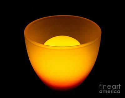 Light Lamp Print by Odon Czintos