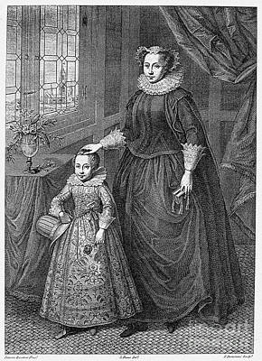 Mary, Queen Of Scots Print by Granger
