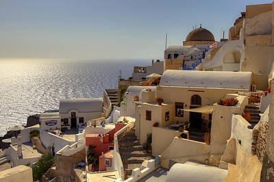 Sea View Photograph - Oia - Santorini by Joana Kruse