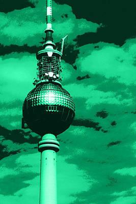Berlin Mixed Media - Pop Art Berlin by Falko Follert