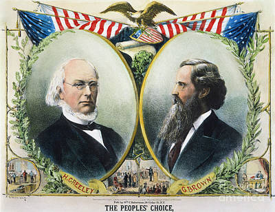 Presidential Campaign, 1872 Print by Granger