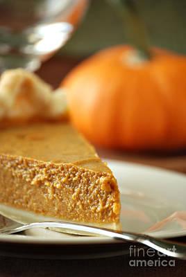 Pumpkin Pie Print by HD Connelly