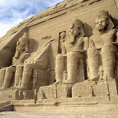 Y120907 Photograph - Ramses II Temple, Abu Simbel, Aswan, Egypt by Hisham Ibrahim