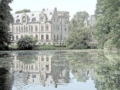 Schloss Paffendorf Germany Print by Joseph Hendrix