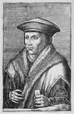 Sir Thomas More, English Statesman Print by Middle Temple Library