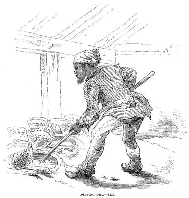 Black Commerce Photograph - Slave Labor, 1857 by Granger