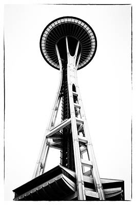 Space Needle Print by Tanya Harrison