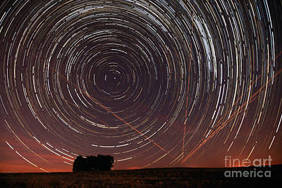 Alentejo Photograph - Star Trail In Alentejo by Andre Goncalves