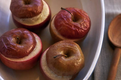Stew Photograph - Stuffed Baked Apples by Joana Kruse