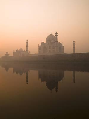 Taj Mahal, Agra, India Print by Keith Levit