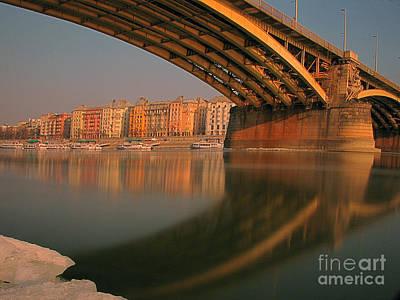 The Bridge Print by Odon Czintos