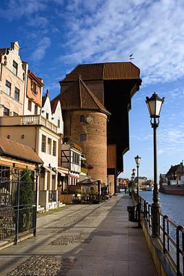 Danzig Photograph - The Crane In Gdansk by Artur Bogacki