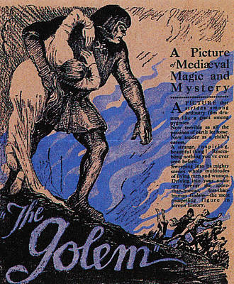 The Golem, Aka Der Golem, Wie Er In Die Print by Everett