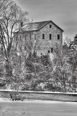 The Old Mill Print by Bill Lindsay