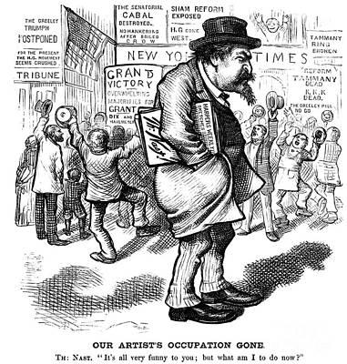 Thomas Nast (1840-1902) Print by Granger