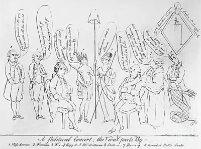 `treaty Of Paris, 1783 Print by Granger