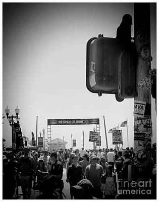 Kelly Slater Photograph - Us Open Of Surfing by RJ Aguilar