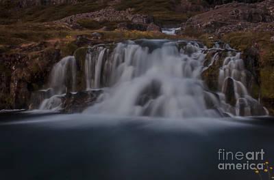 Waterfall Print by Jorgen Norgaard
