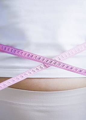 Weight Loss Print by Cristina Pedrazzini