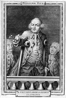 William Pitt (1708-1778) Print by Granger
