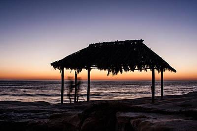 Windansea Beach Hut One Print by Josh Whalen
