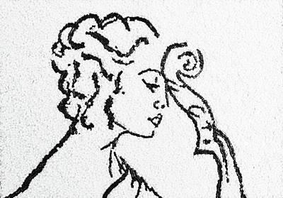 Woman Print by Natalya A