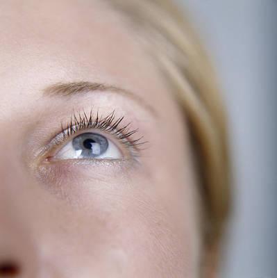 Woman's Eye Print by Cristina Pedrazzini