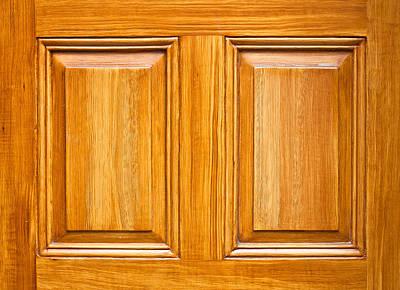 Wooden Panels Print by Tom Gowanlock