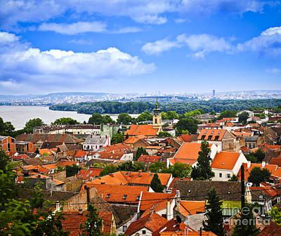 Eastern Europe Photograph - Zemun Rooftops In Belgrade by Elena Elisseeva