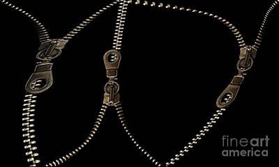Zippers Print by Odon Czintos