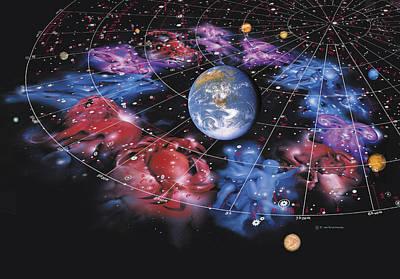 Virgo Photograph - Zodiac Signs by Detlev Van Ravenswaay