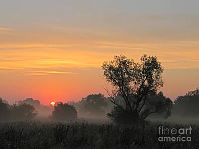 Sunset Print by Odon Czintos