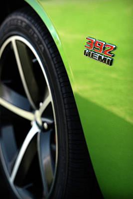 2012 Dodge Challenger 392 Hemi - Green With Envy Print by Gordon Dean II