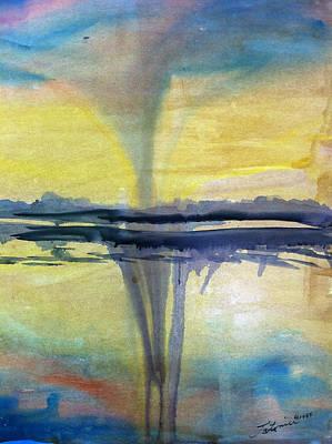 Blue Healer Painting - 2012 by Madison Latimer