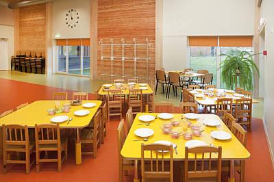 Tableware Photograph - A  Modern Building A Pre-school by Jaak Nilson