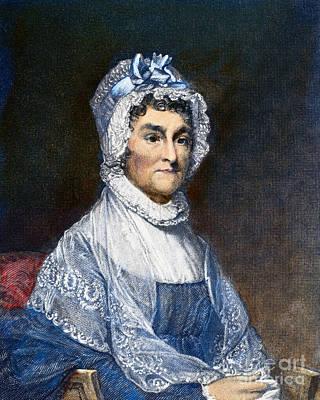 Abigail Photograph - Abigail Adams (1744-1818) by Granger