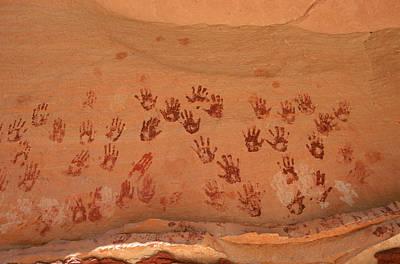 Ancient Pueblo-anasazi Rock Art Print by Ira Block