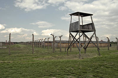 Auschwitz Photograph - Auschwitz Birkenau Concentration Camp. by Fernando Barozza