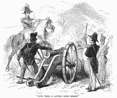 Battle Of Buena Vista Print by Granger