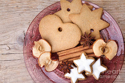 Glasses Photograph - Christmas Gingerbread by Nailia Schwarz