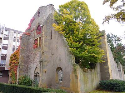 Cityspace Photograph - Church Of St Livier  by Cedric Sureau