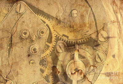 Clockwork Mechanism Print by Michal Boubin