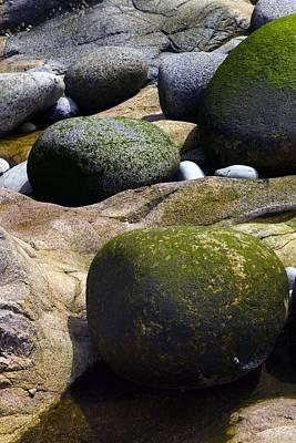 Coastal Rocks Print by Dr Keith Wheeler